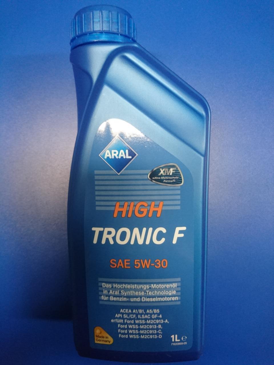 high tronic f 5w30